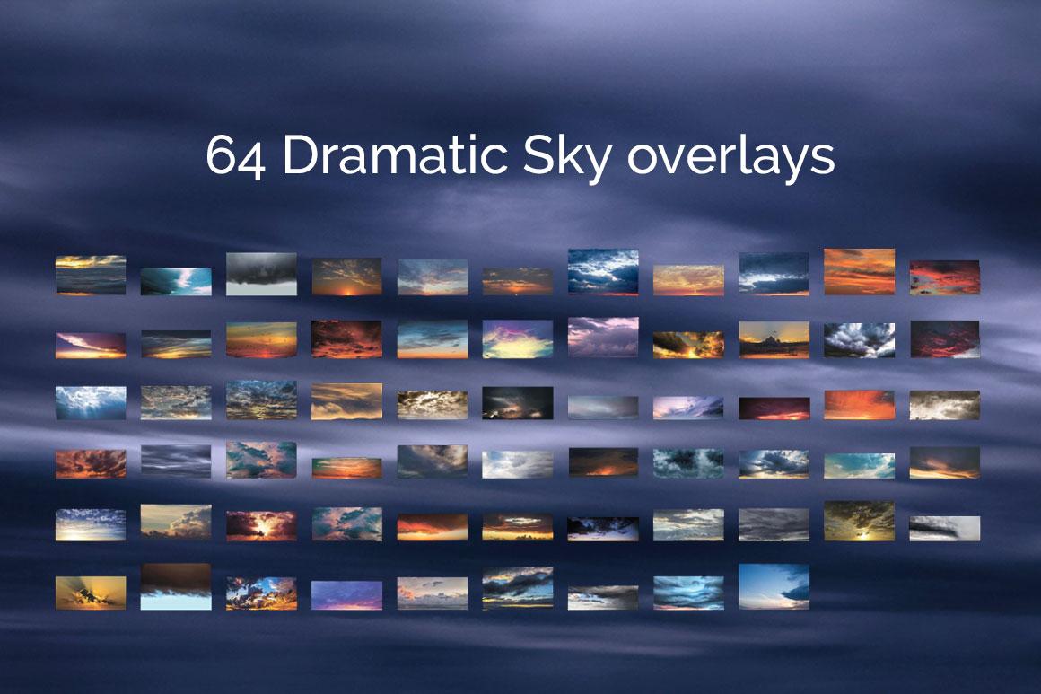 317 Sky Overlays BUNDLE example image 7