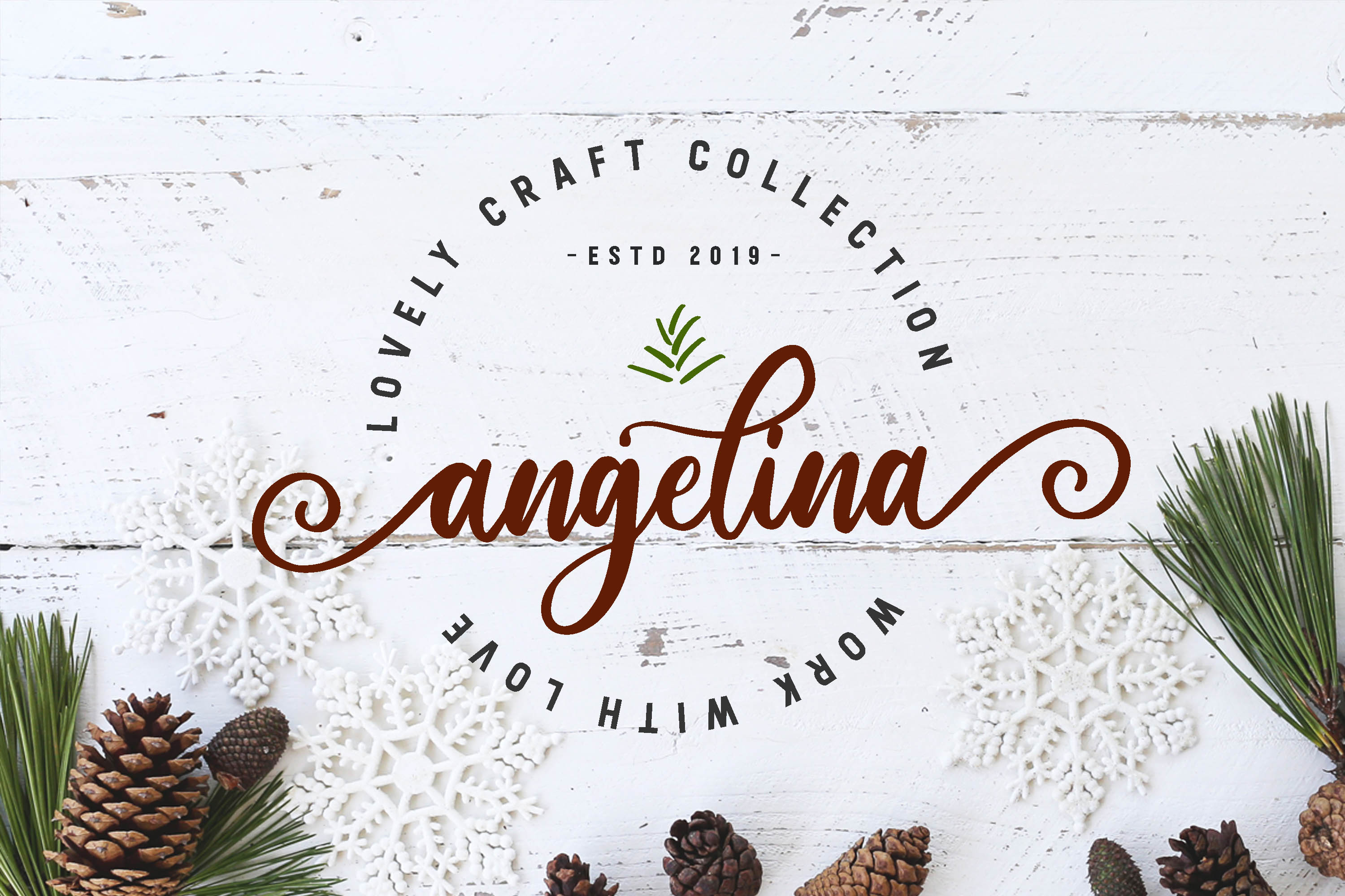 routher - beautiful script font example image 5