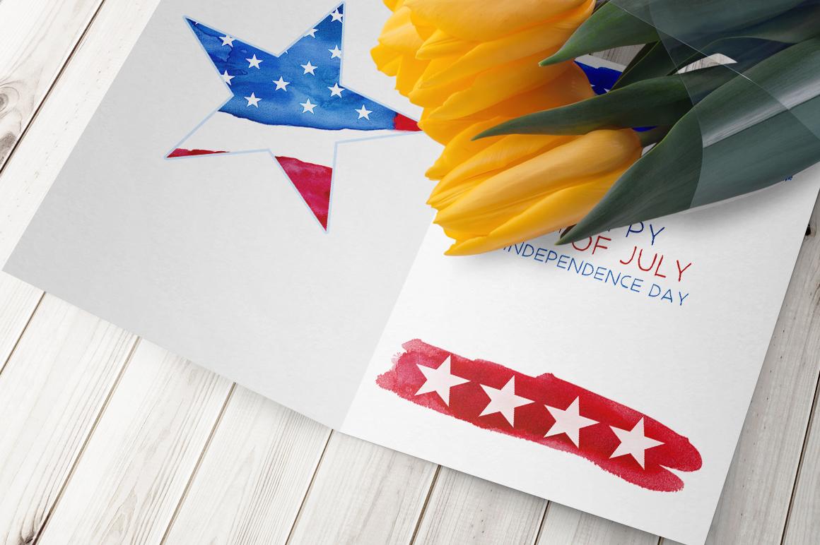 Patriotic USA. MINI Collection. example image 8