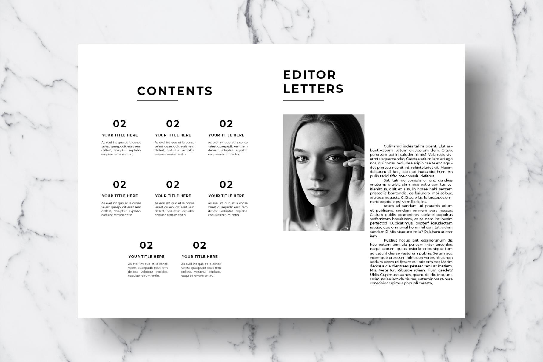 Magazine Template Vol. 12 example image 2