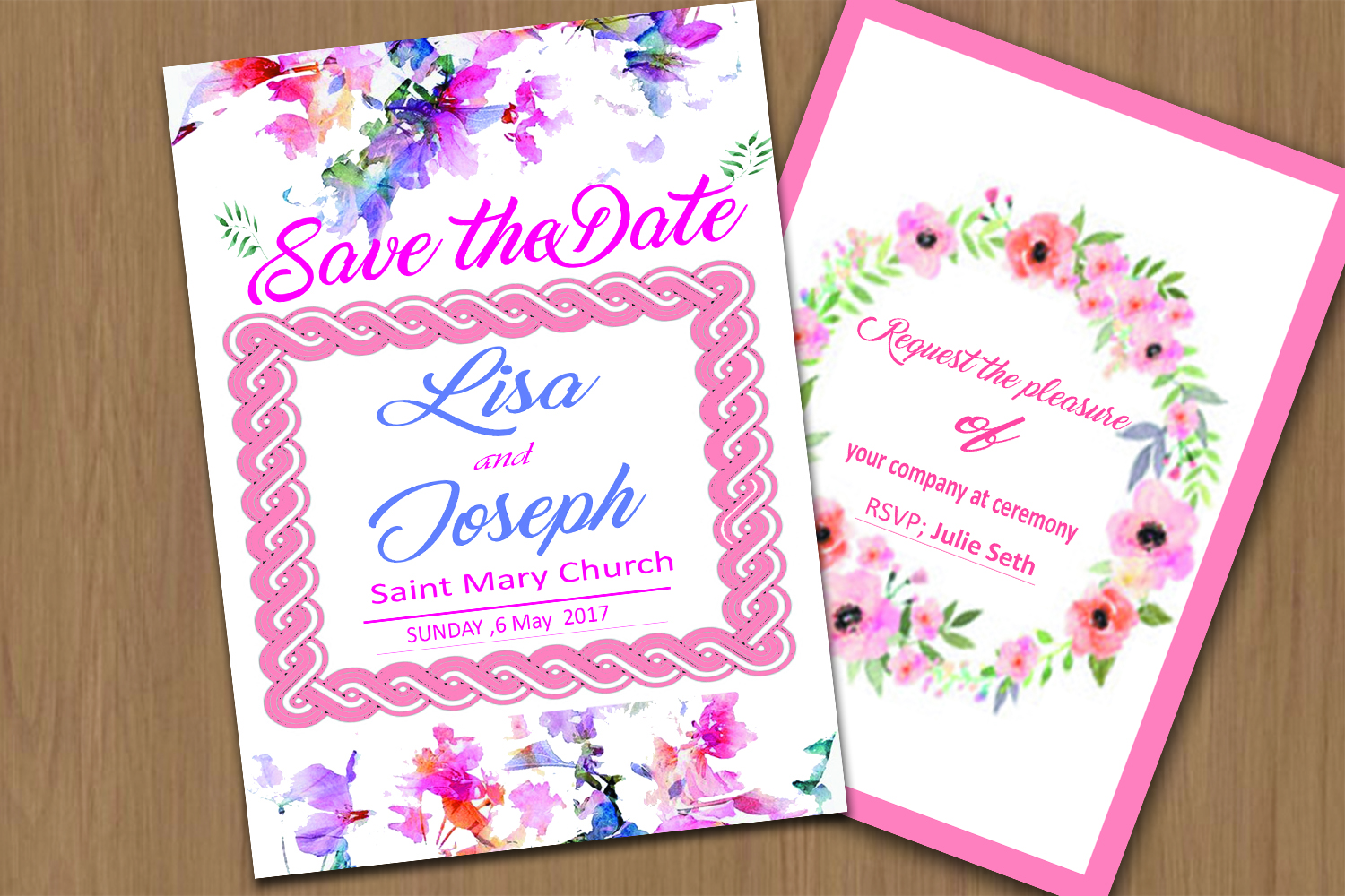 Save The Date example image 1