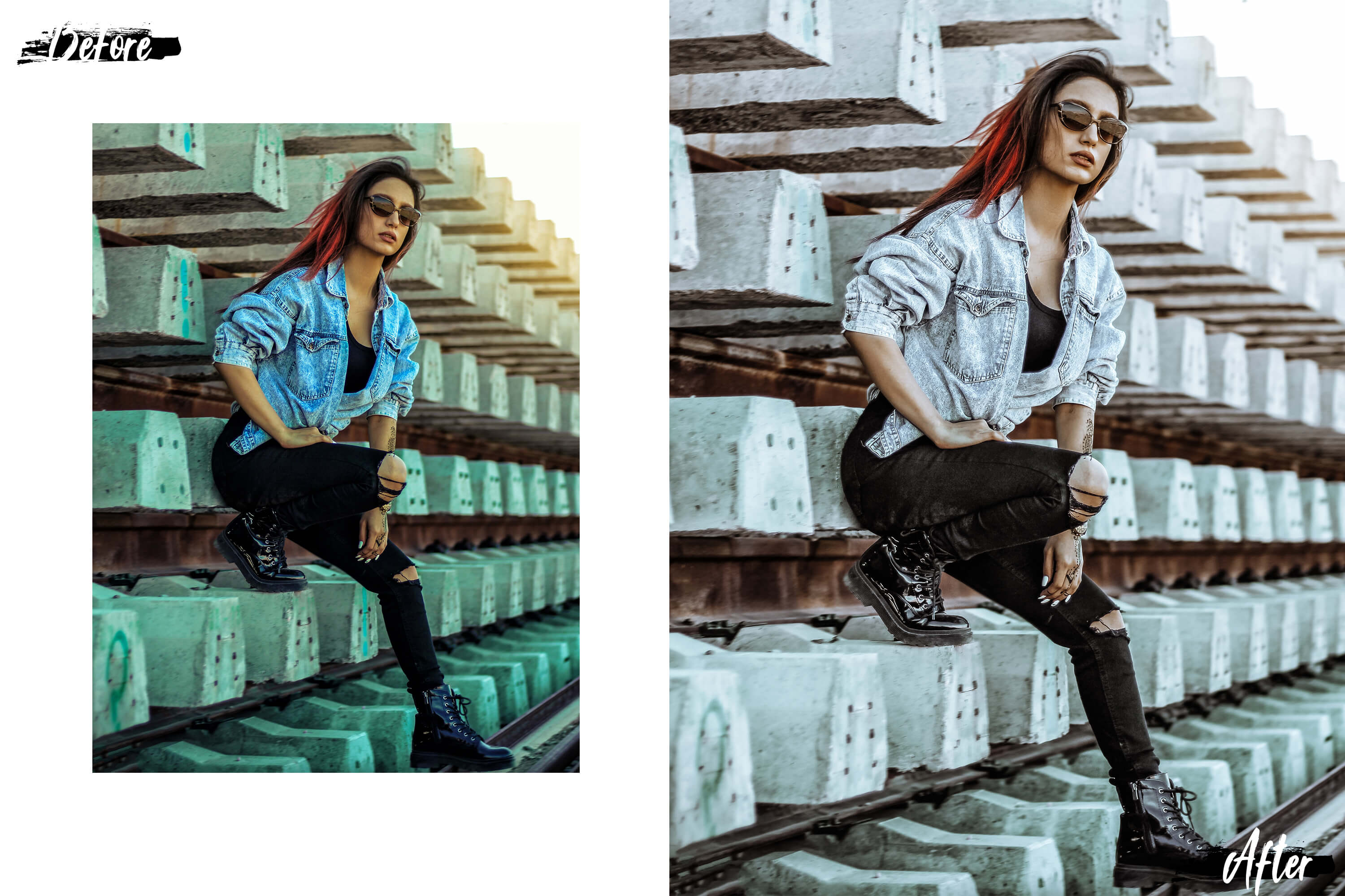 05 Fashion Wave Mobile Lightroom Presets, Vogue photography example image 8