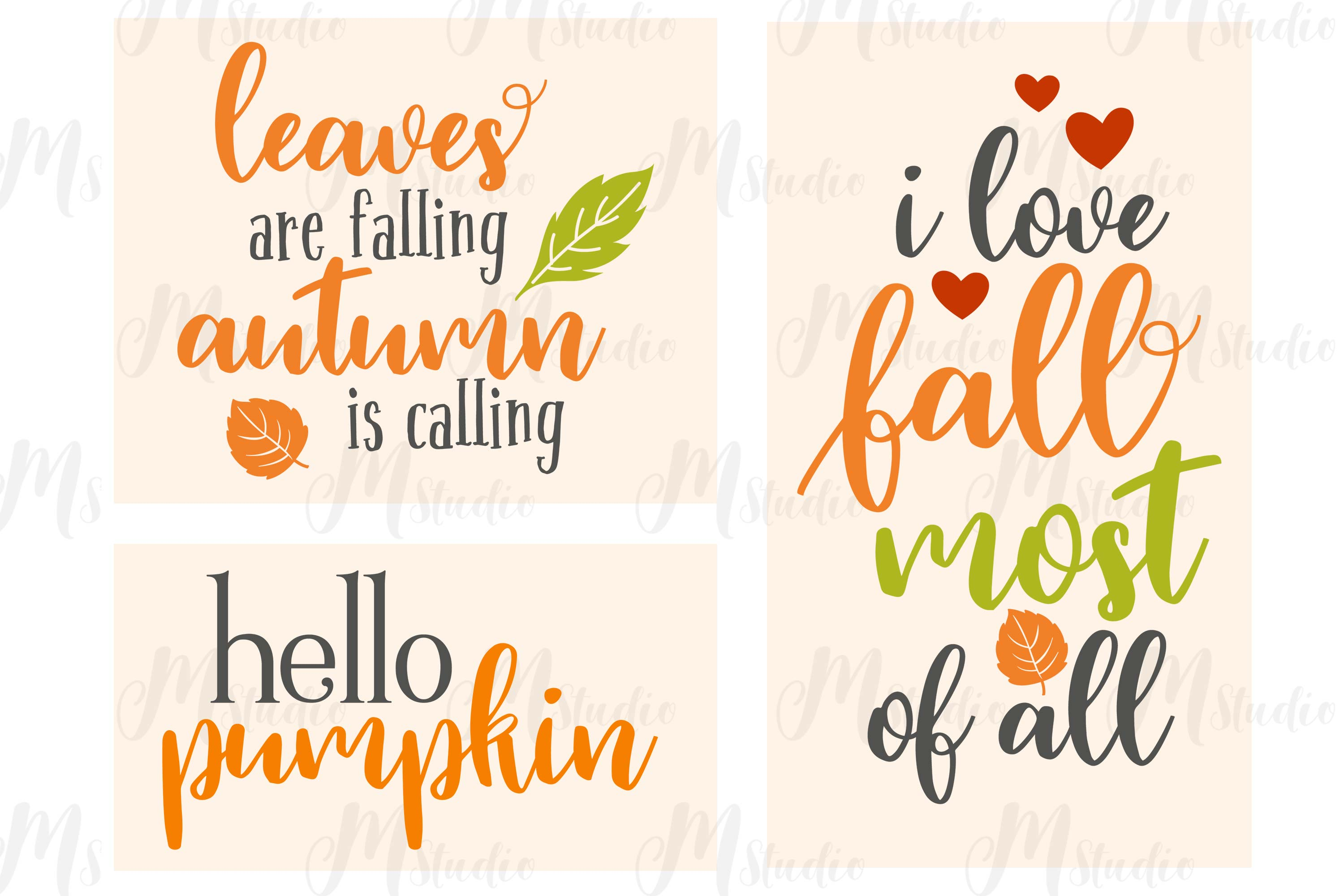 Fall SVG Bundle. example image 7