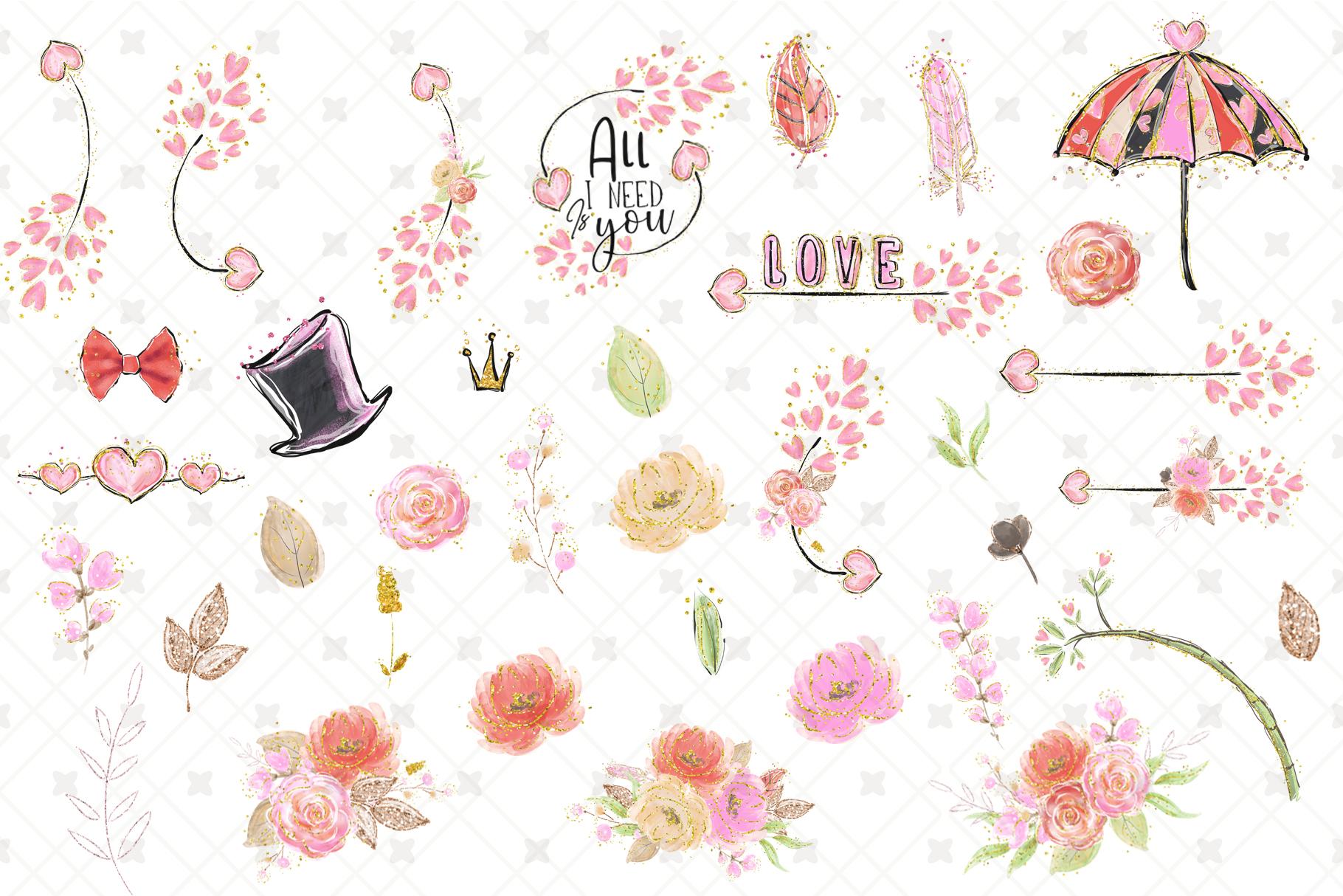 Valentine's clip art example image 7