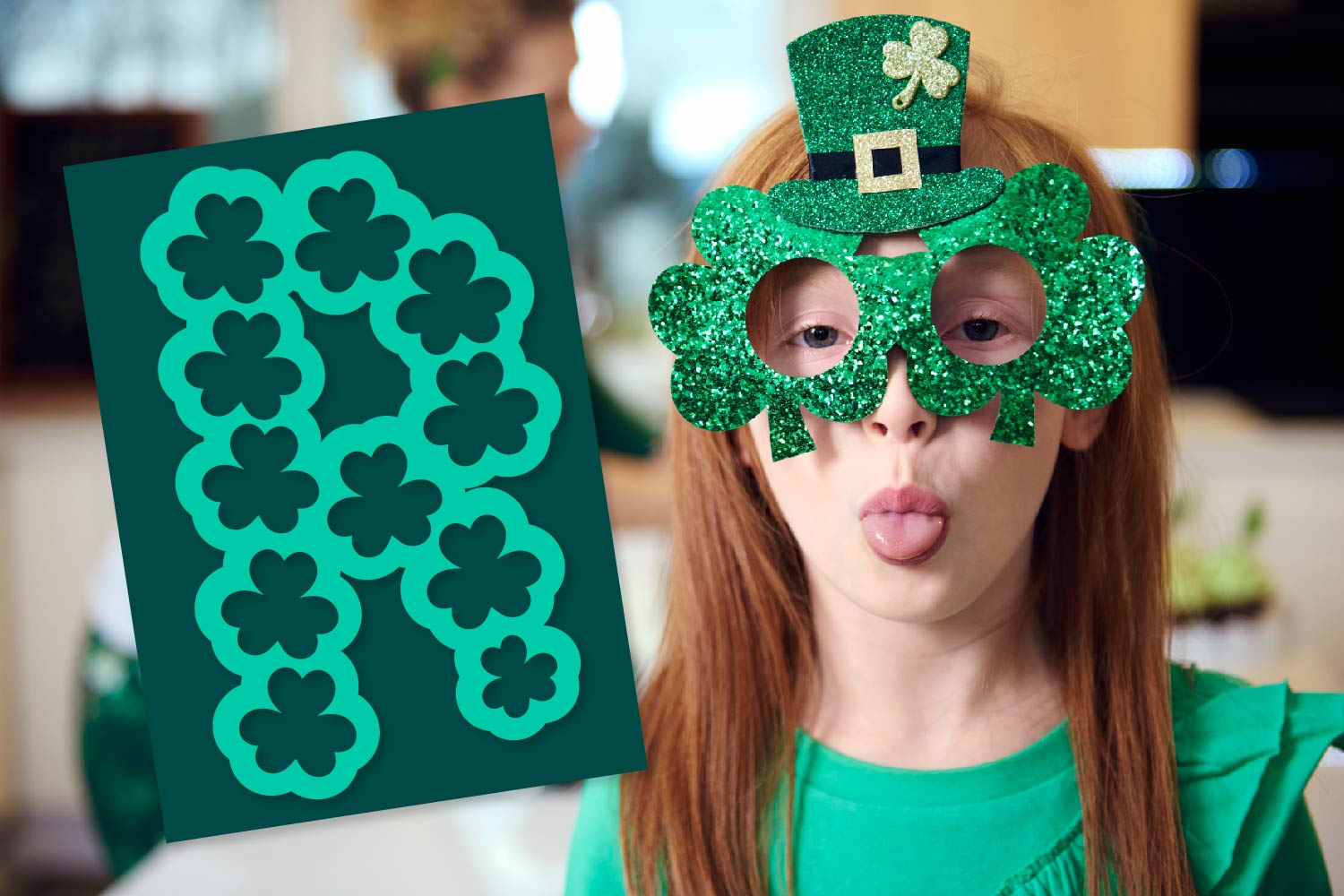 Pure Luck - A Shamrock Font Duo example image 3
