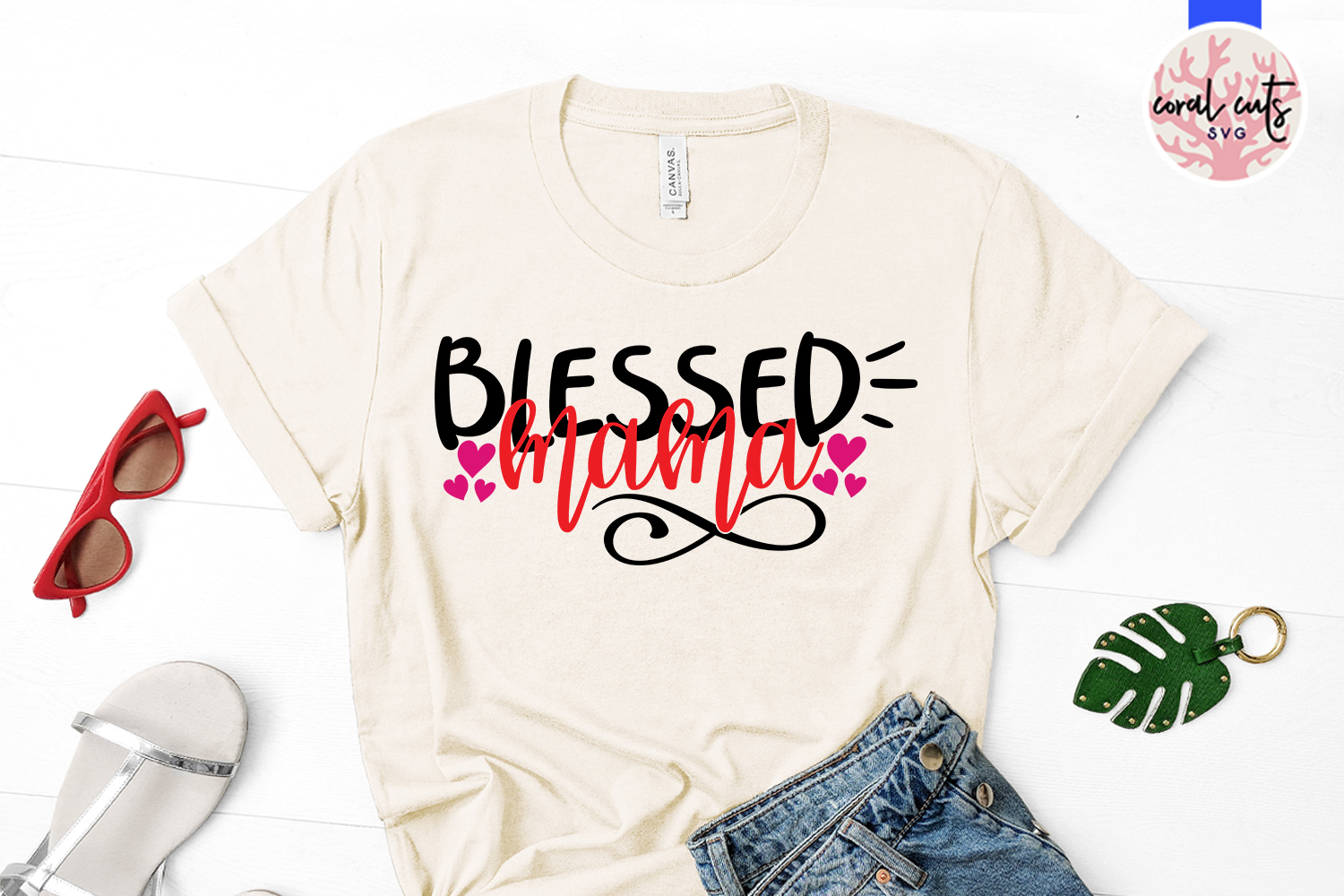 Mamma blessings and blessed mama - Mother SVG EPS DXF PNG example image 2