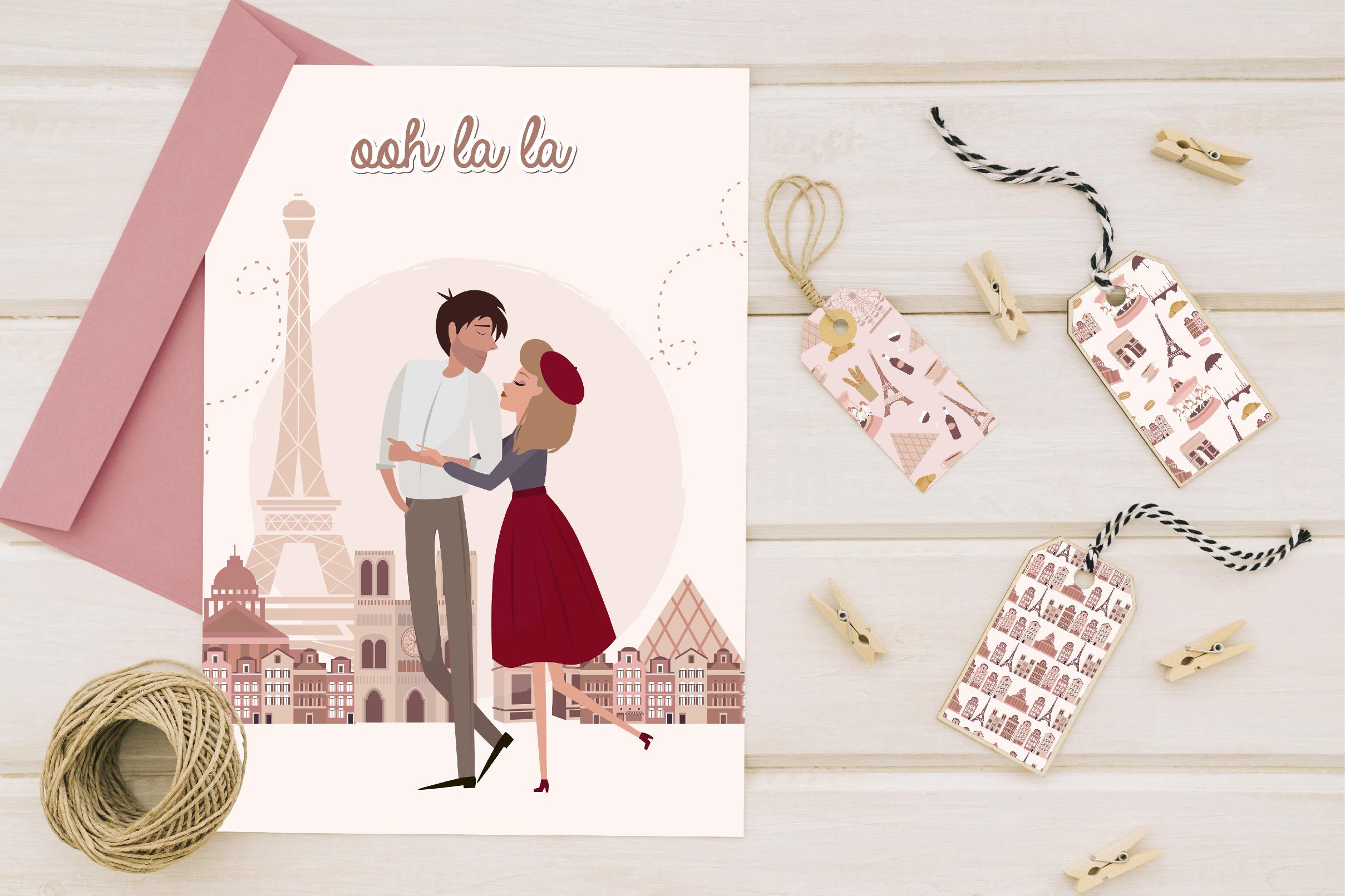 Paris. One romantic story example image 4
