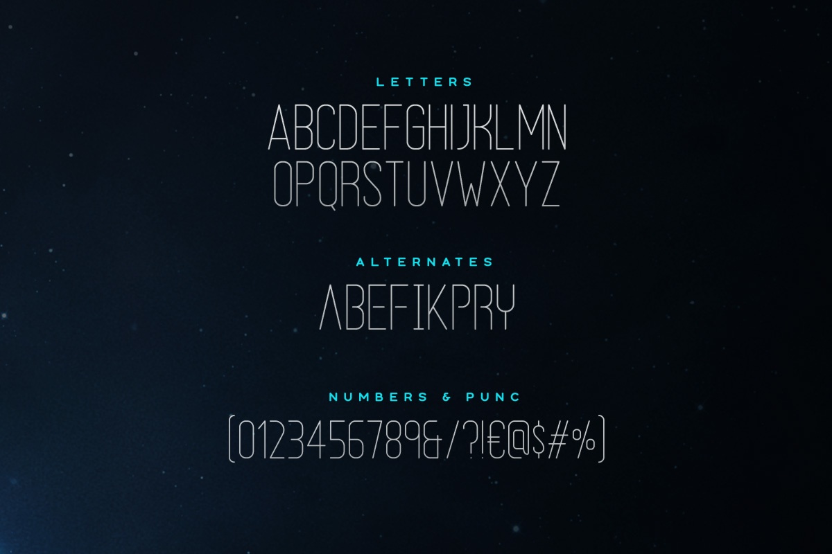 Halcyon Typeface example image 2