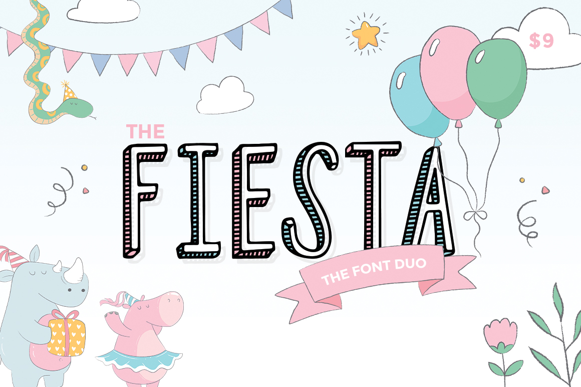 Fiesta Font Duo example image 1