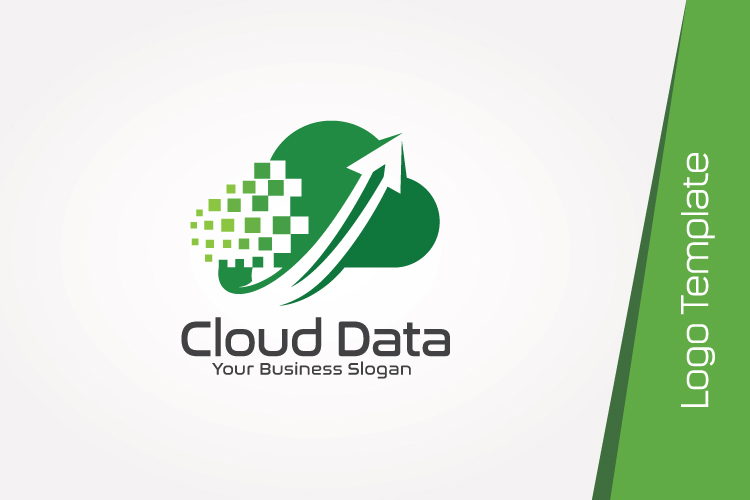 Cloud Data Logo Template example image 4
