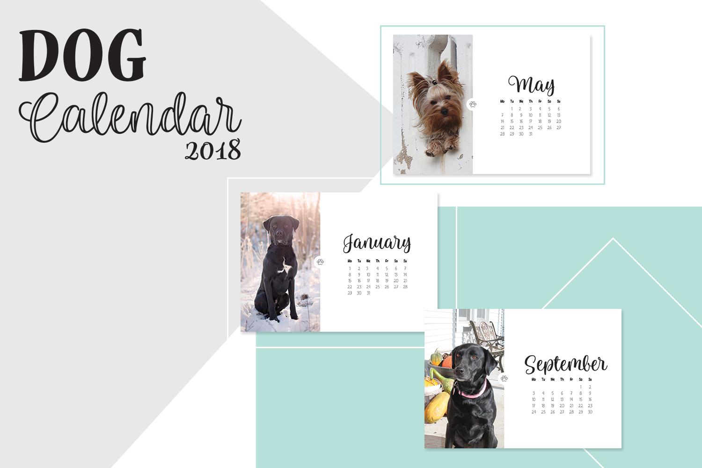 Dog Calendar 2018  example image 1