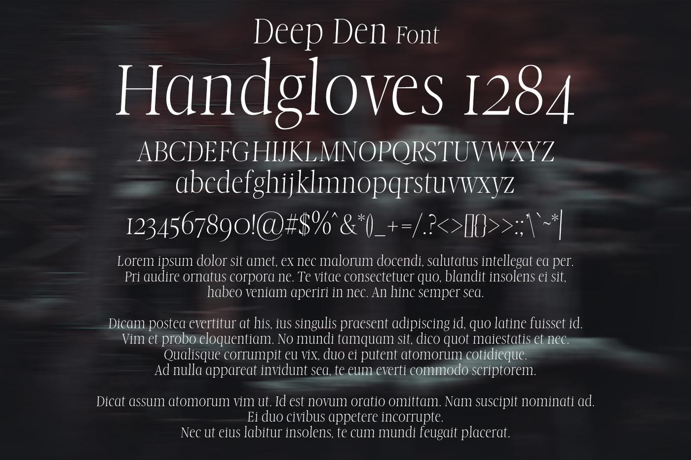 Deep Den Font example image 2