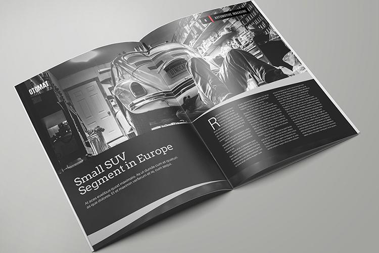 Automotive Magazine Template - Otomat example image 5