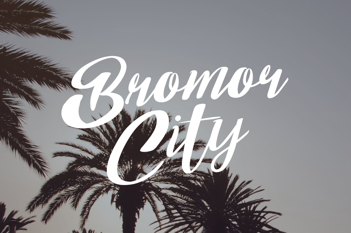 Bom Day Font example image 5