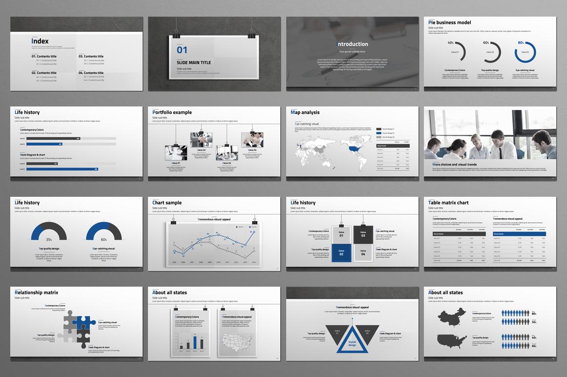 Premium Powerpoint Template example image 3