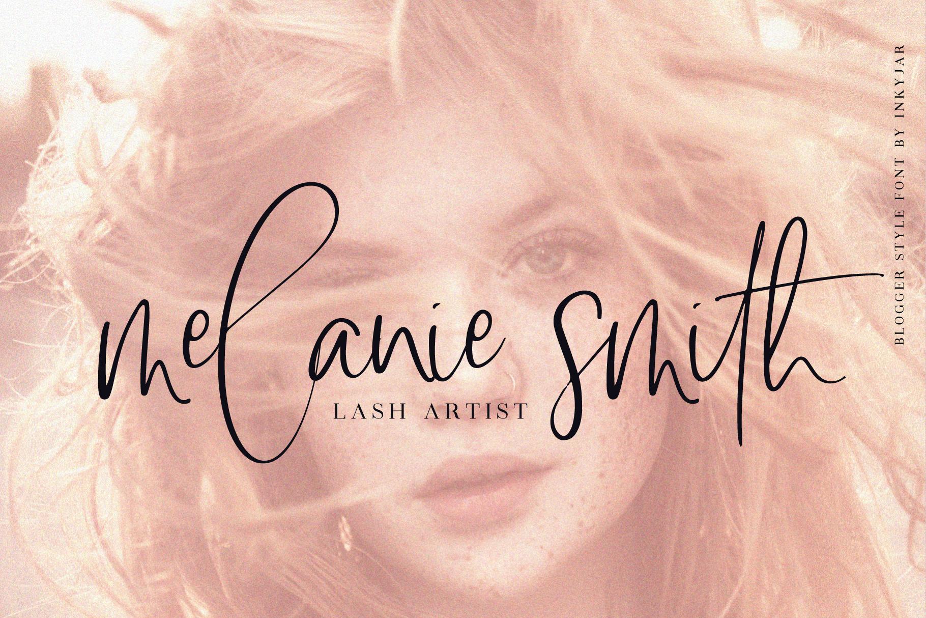 Lasiera Script Font | Blog style example image 2
