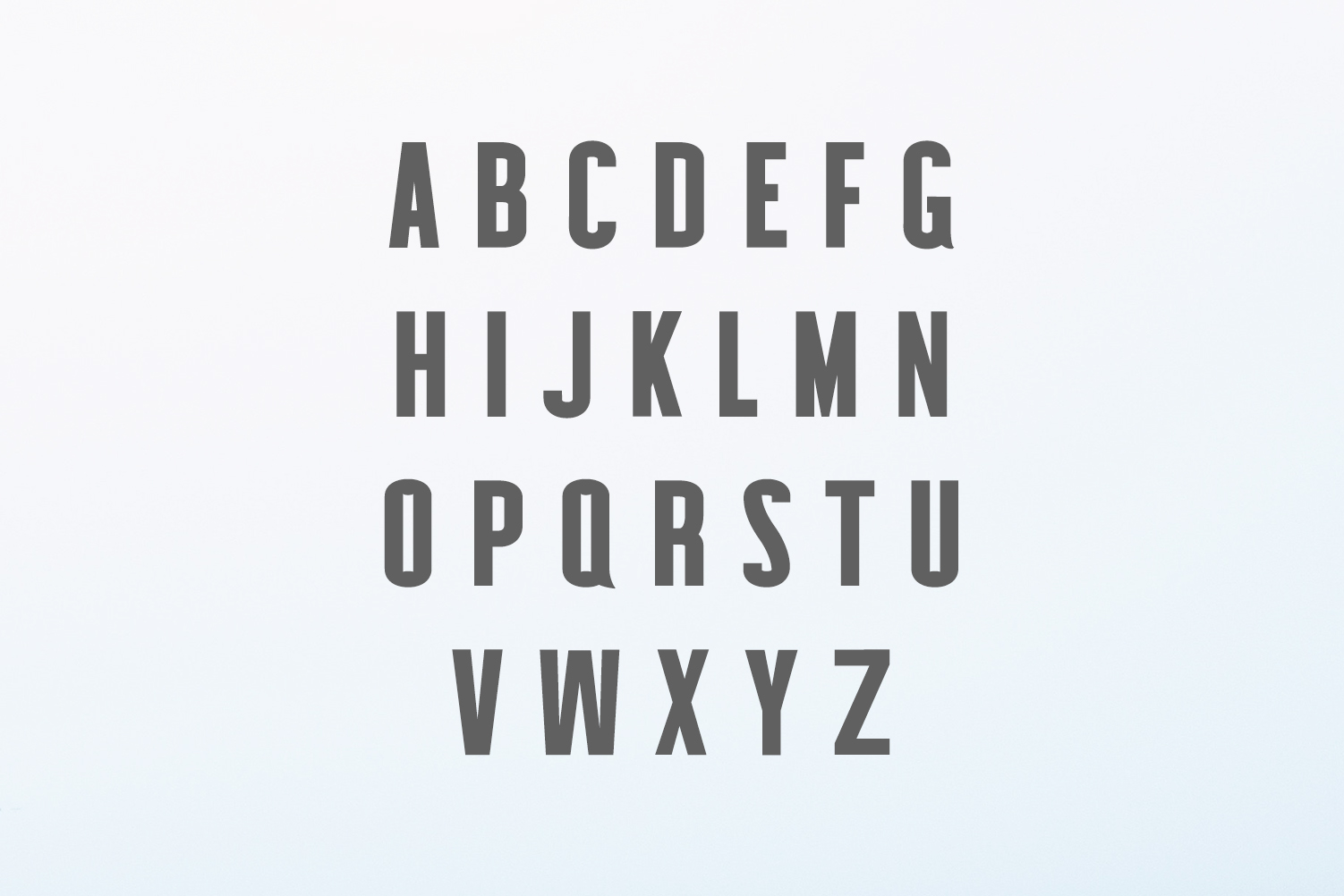 Wellston Modern Sans Serif Font Family example image 2