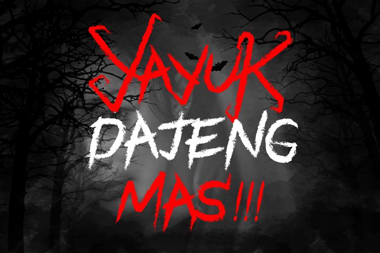Black Halloween - Spooky Font example image 3