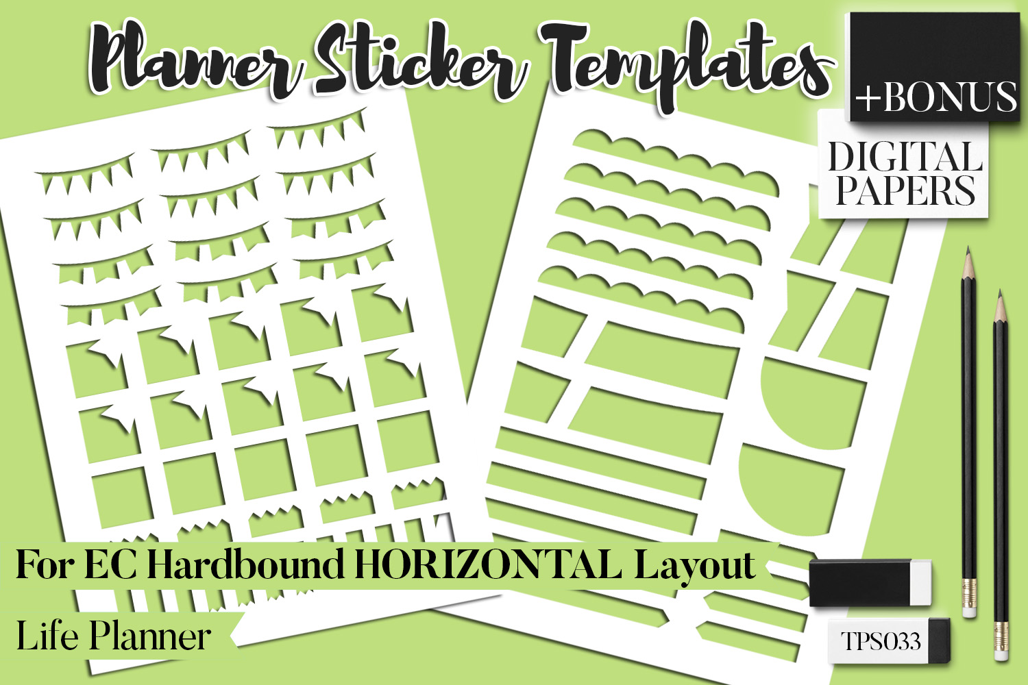 Planner Stickers Templates - Bundle Vol. 11 example image 16
