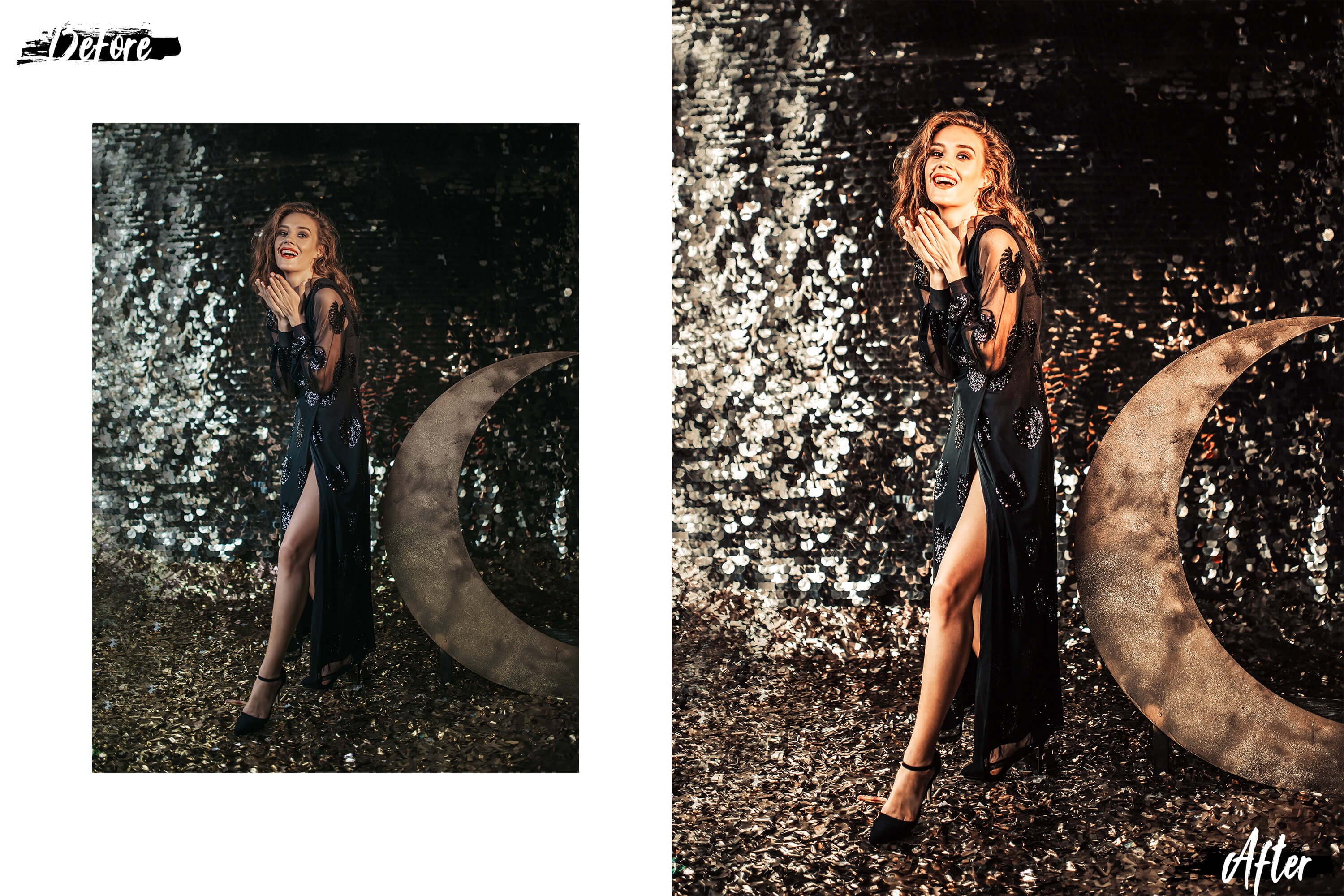 05 Christmas Eve Photoshop Actions, ACR and LUT presets example image 6