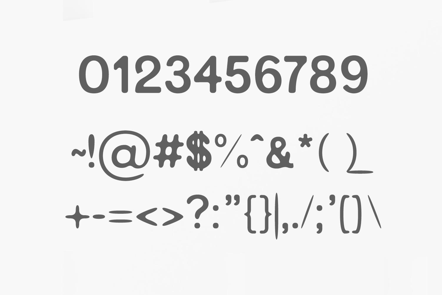 Gerard Sans Serif Font Family example image 3