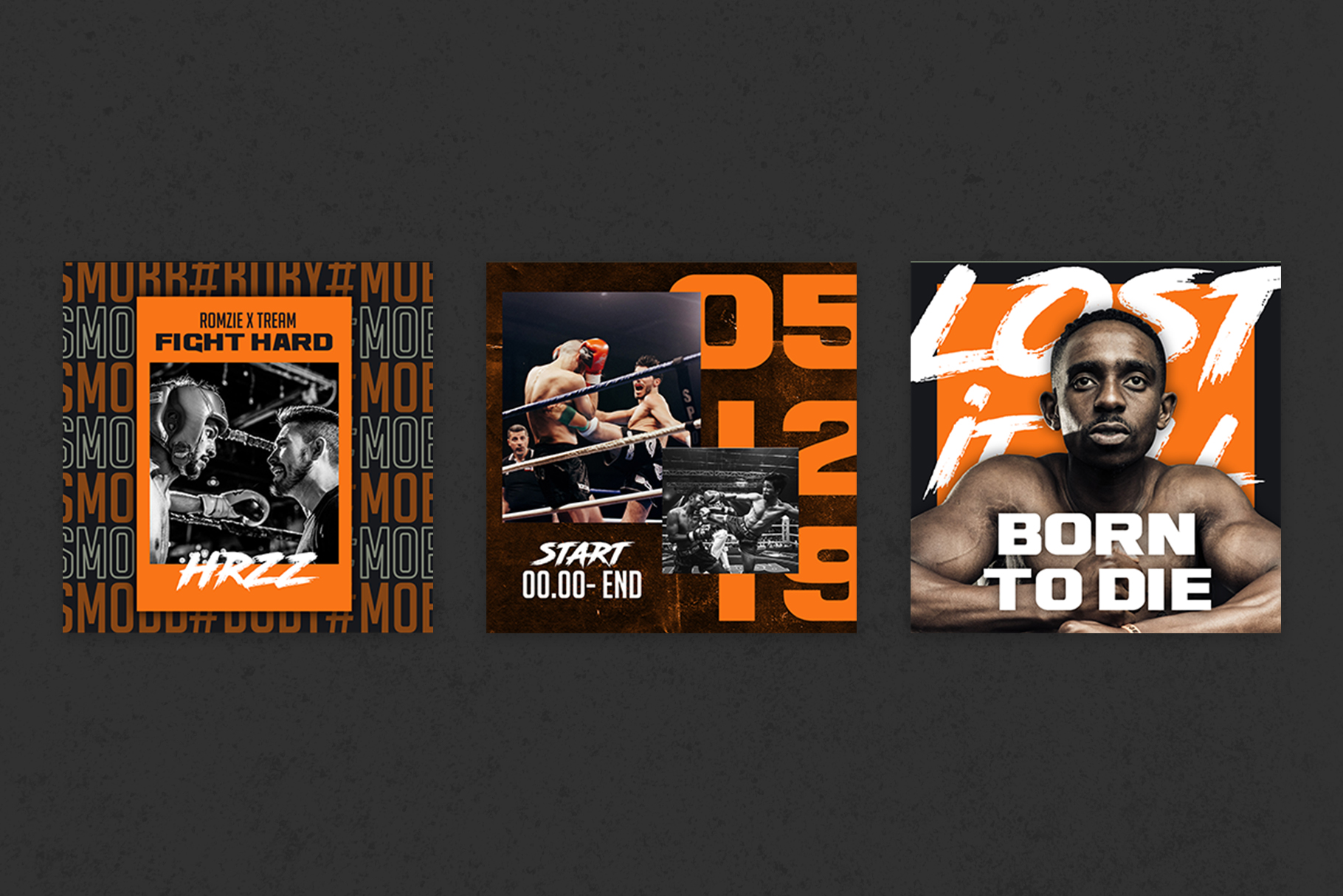 Boxing Instagram Templates example image 3