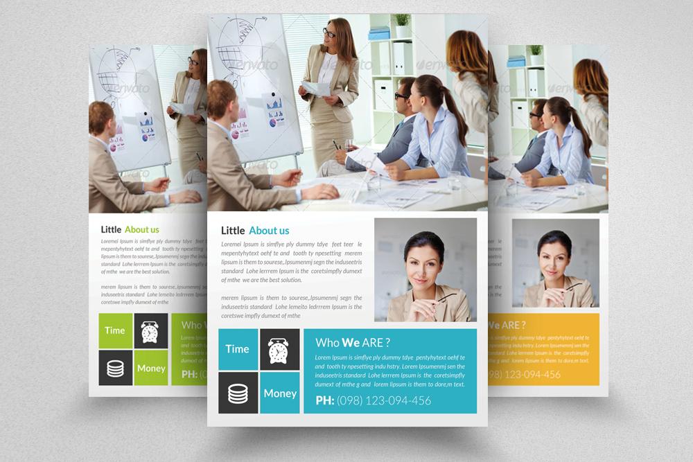 6 Multi Use Business Flyers Bundle example image 3