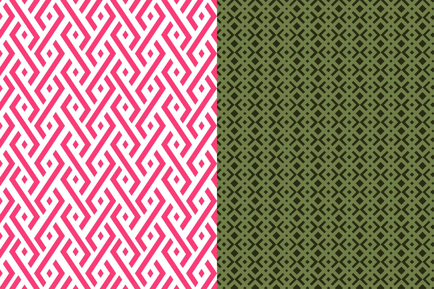 10 Geometric and Liquid Pattern example image 6
