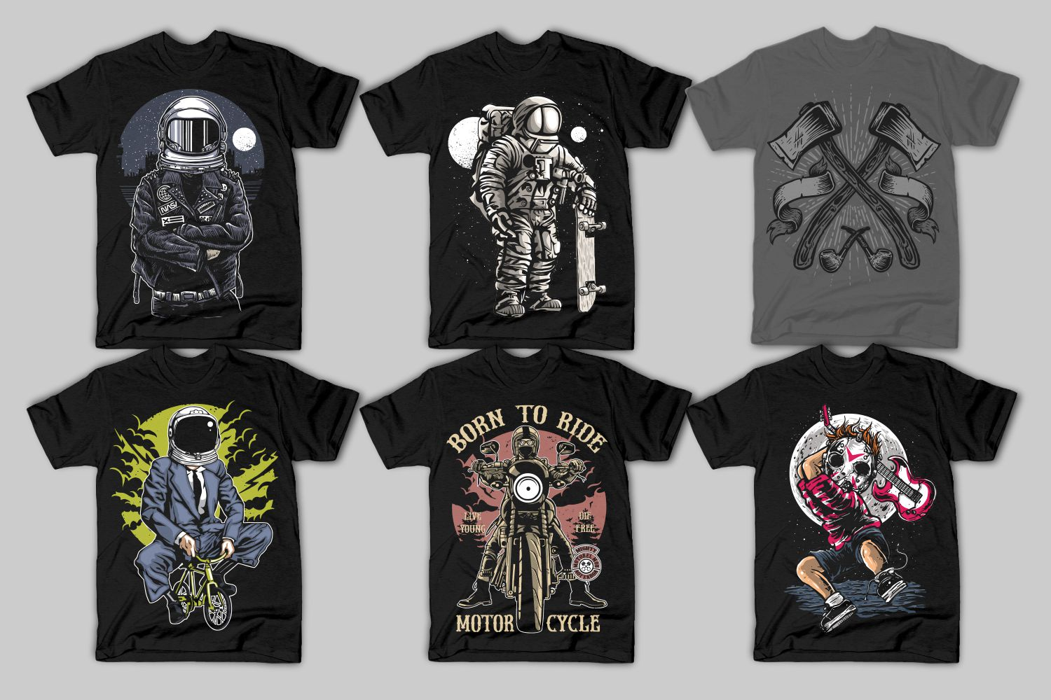 82 Tshirt Designs Bundle example image 8