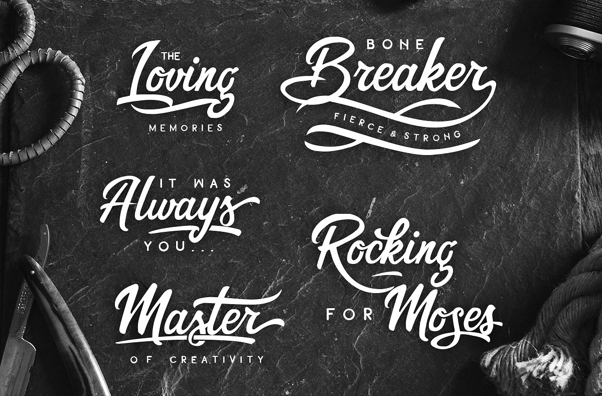 The Trickster Font Duo + extras example image 4