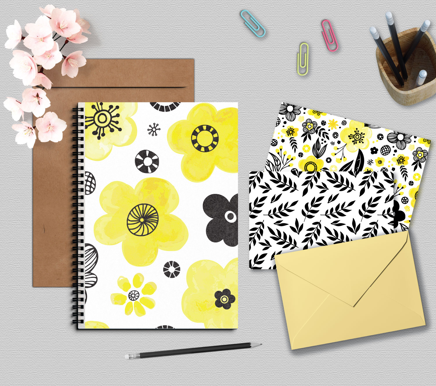 Yellow Floral Collection example image 3