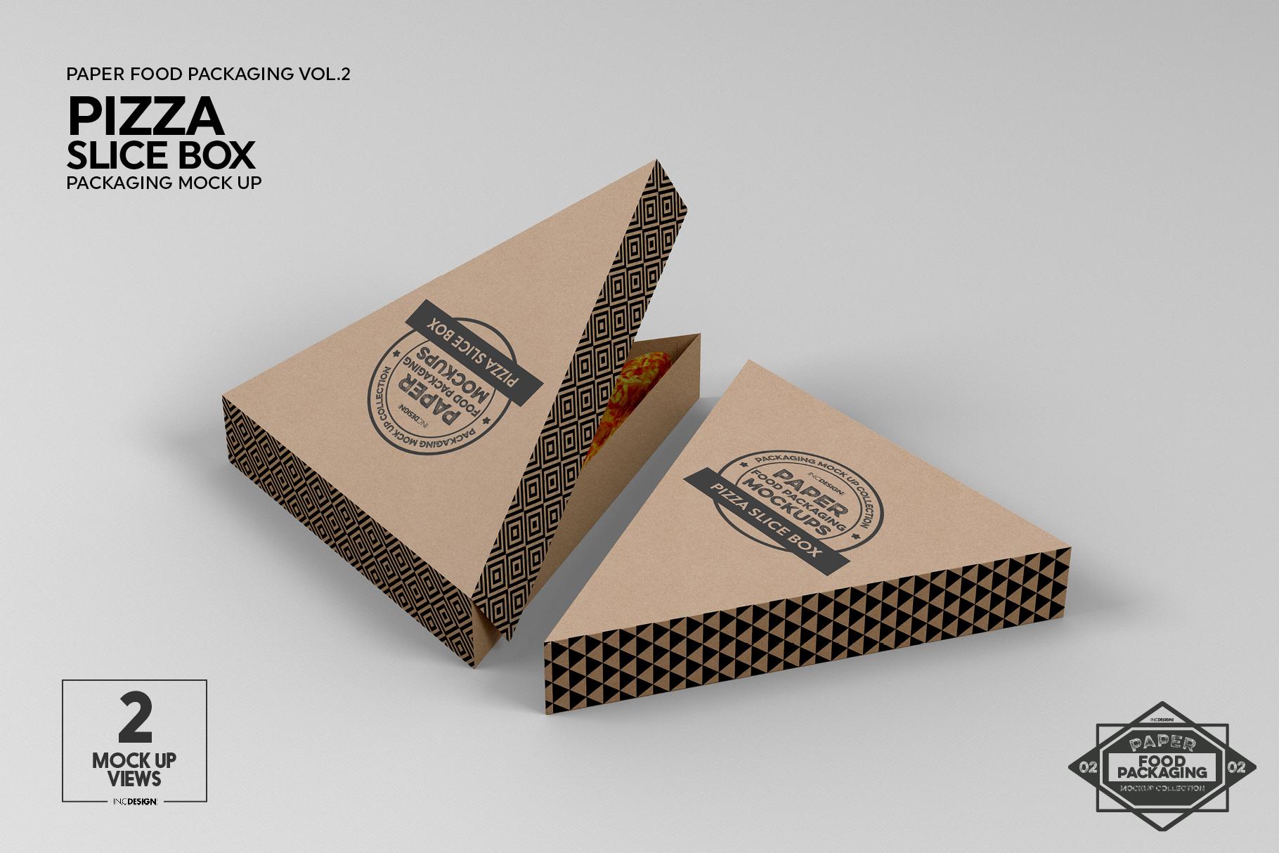VOL.2 Food Box Packaging MockUps example image 15