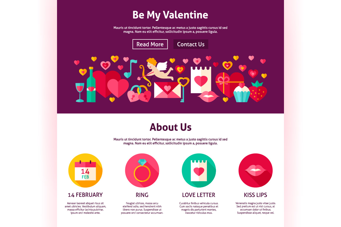 Valentine's Day Web Banners example image 7