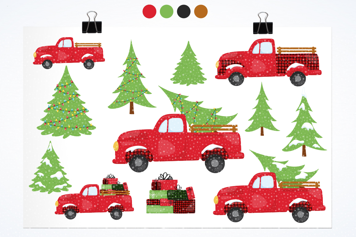 Christmas Tree graphic and illustrations example image 2