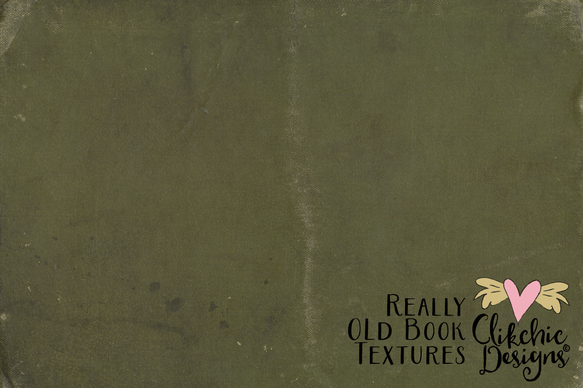 Grunge Book Textures - Really Old Book Textures example image 2