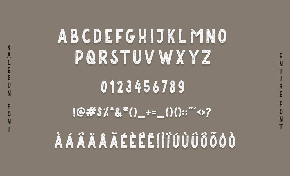 Kalesun Vintage Font example image 3