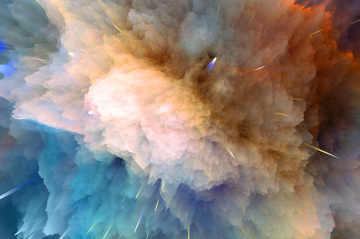 Space Explosion Backgrounds example image 3