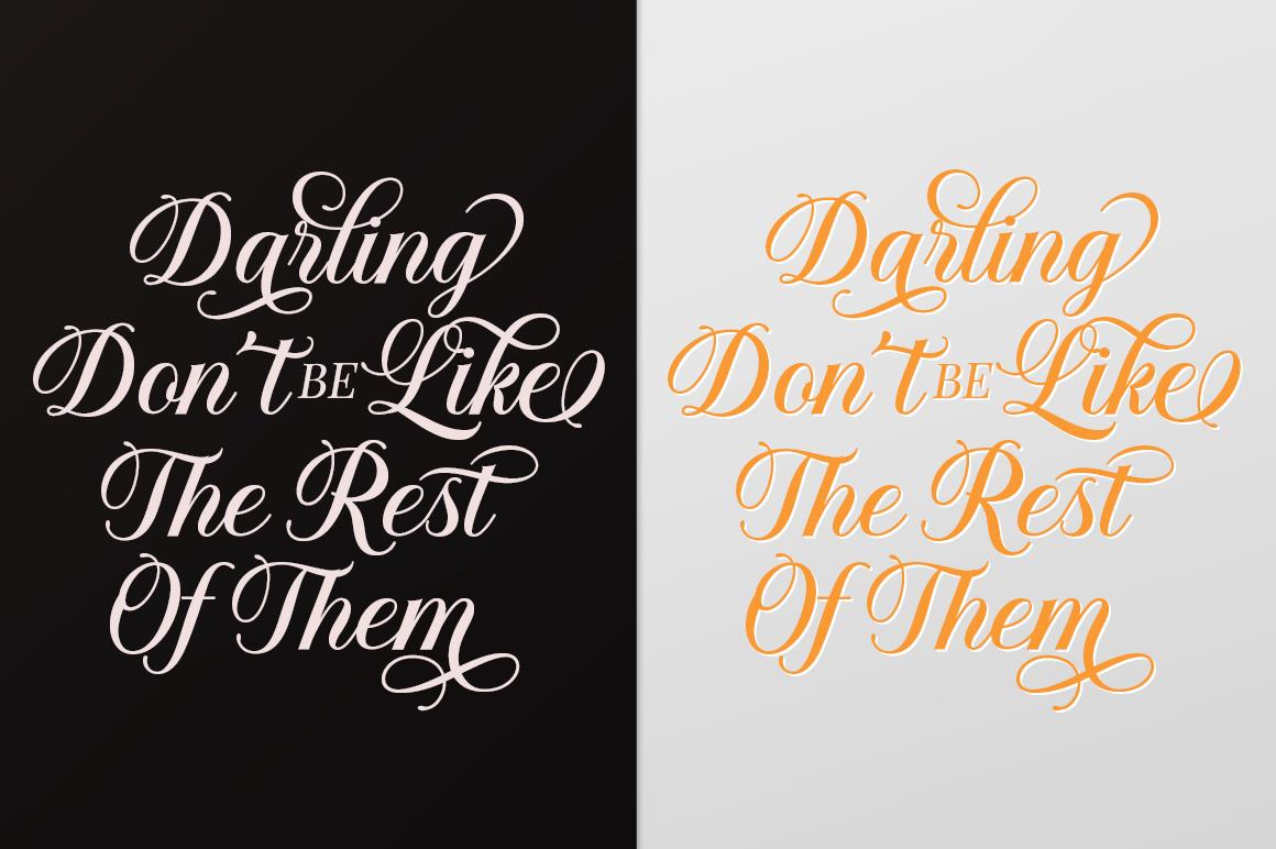 Solistaria-Elegant Calligraphy Font example image 7