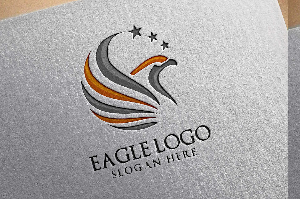 Eagle Star Logo Template example image 3