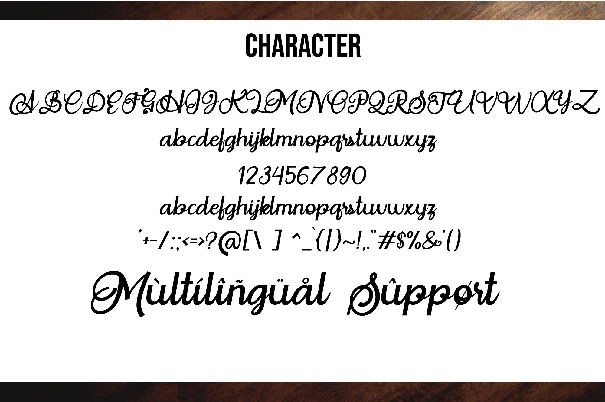Situgintu Calligraphy example image 5