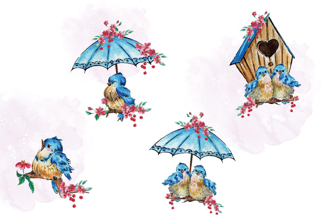 Cherry Blossom Clip Art example image 3