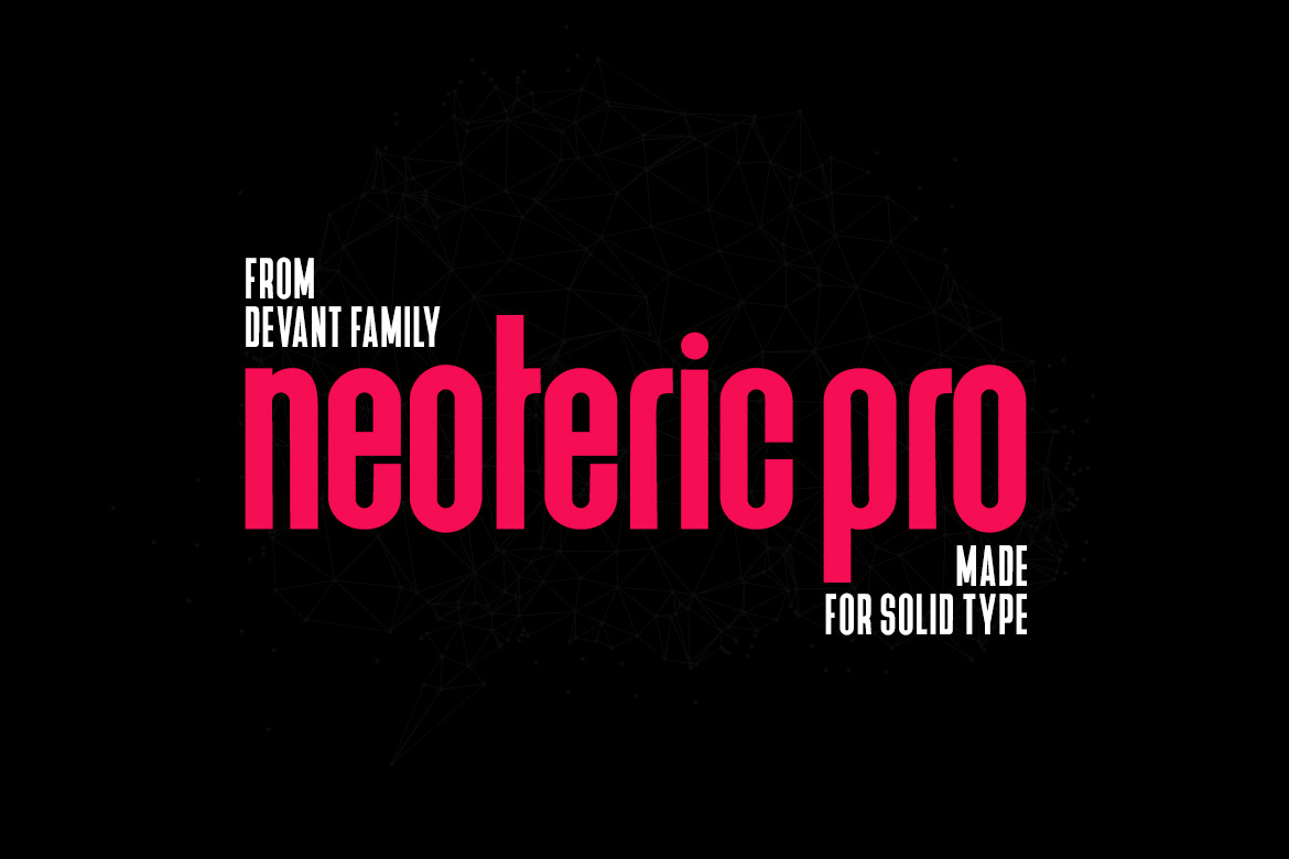 Devant Neoteric Pro Modern Font example image 2