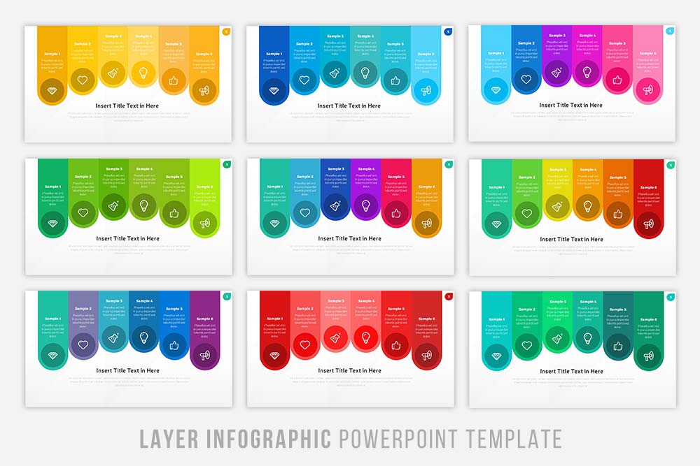 Layer Infographic Powerpoint example image 4
