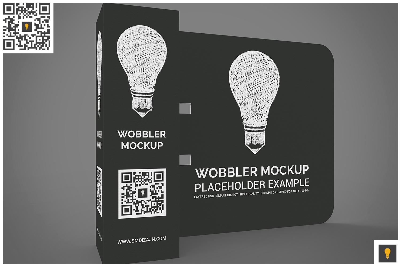 3D Wobbler Mockup example image 4