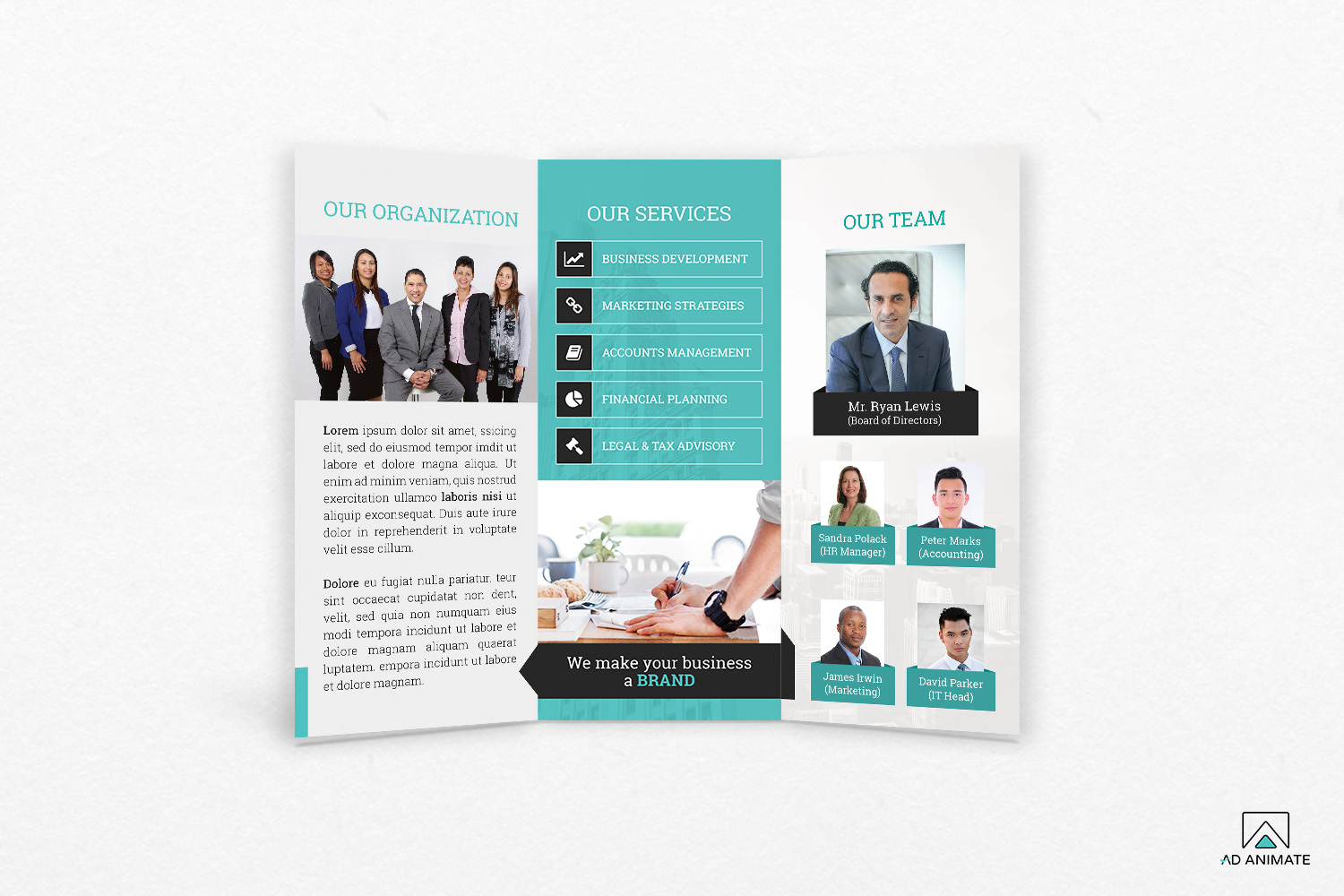 Trifold Business Brochure example image 2