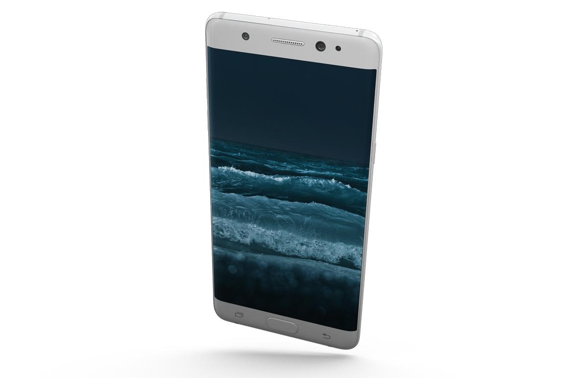Samsung Galaxy Note 7 Gravity Mockup example image 3