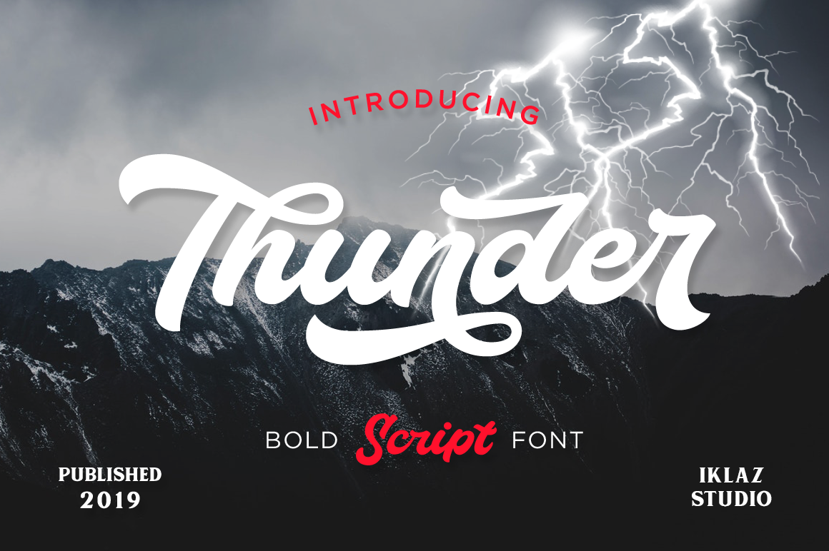 Thunder Script example image 10