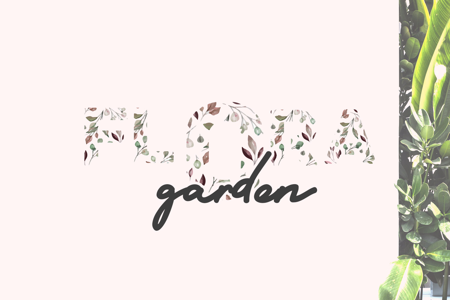 Flora Font Duo example image 3