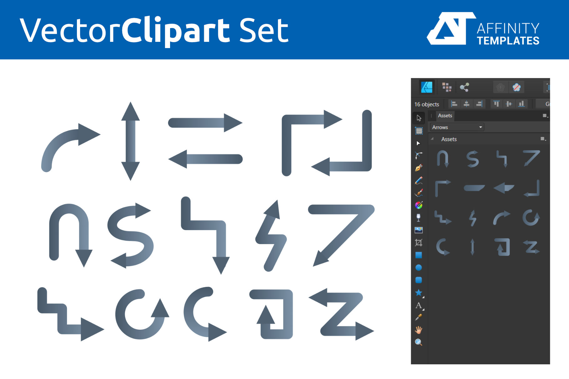 Affinity Designer Clip-atrs Bundle example image 12