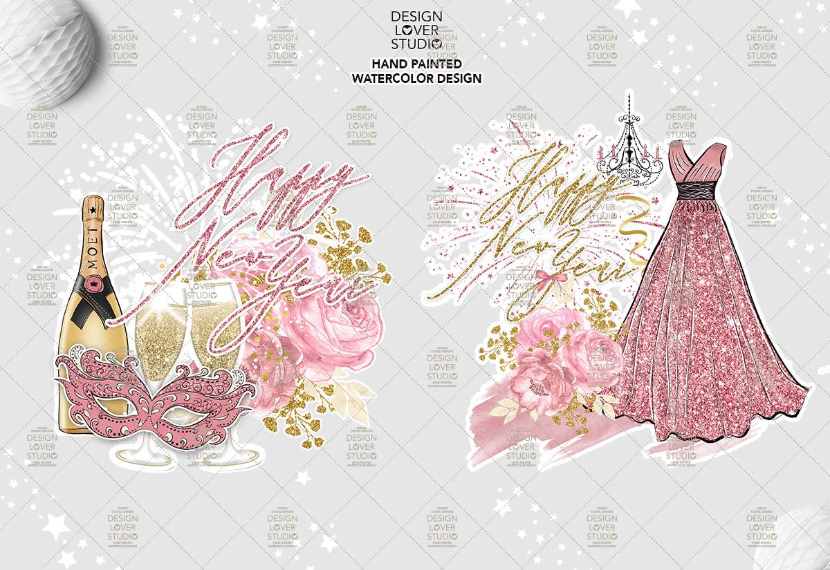 Happy New Year design example image 5